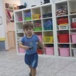נועם רץ וממשיך לשחק ברצון,  גם כשבאים לקחת אותו הביתה